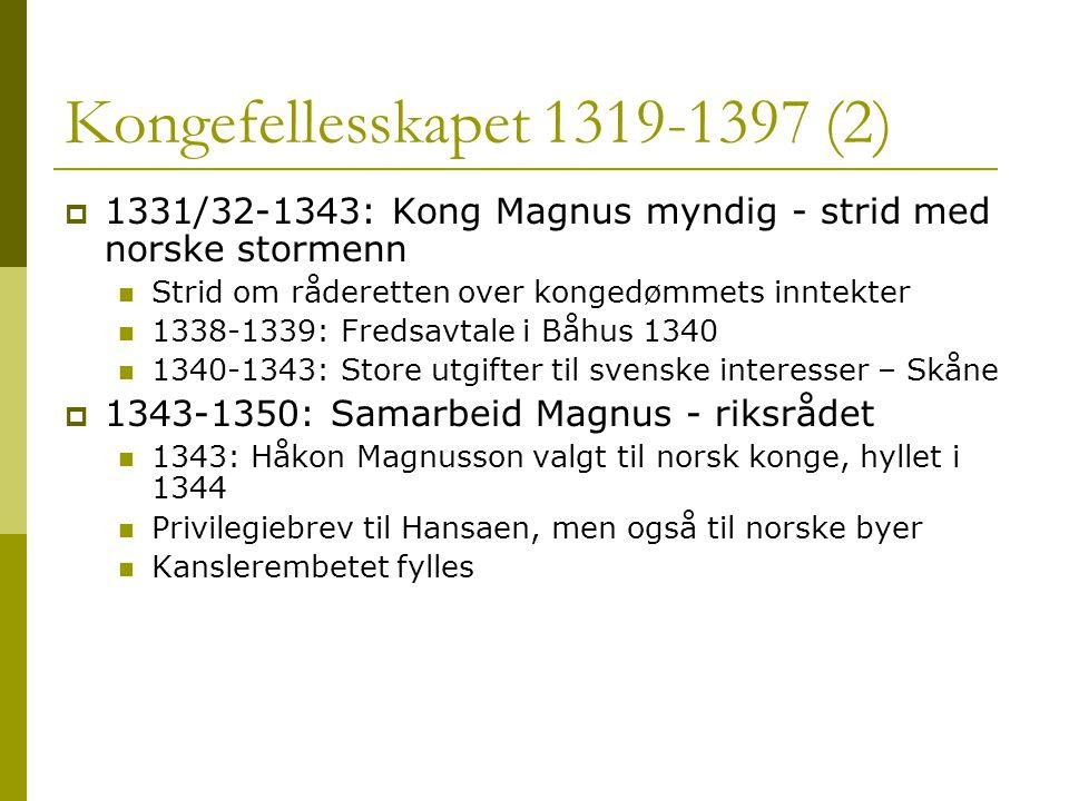 Kongefellesskapet 1319-1397 (2)