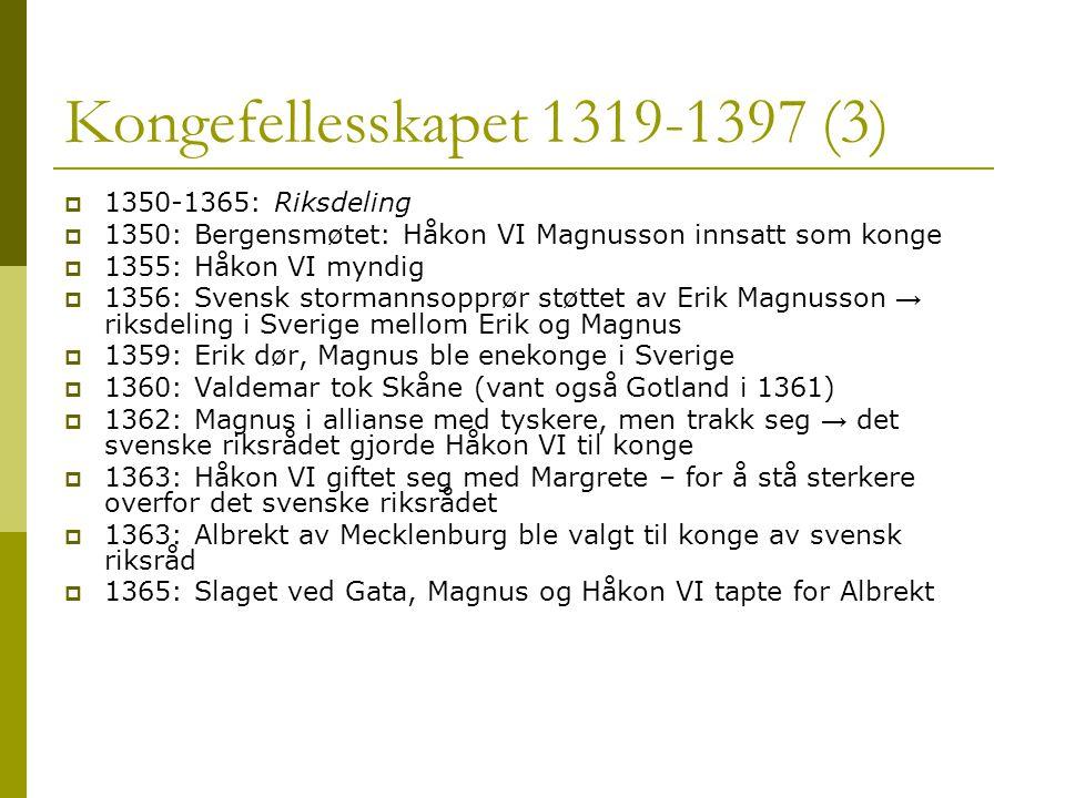 Kongefellesskapet 1319-1397 (3)