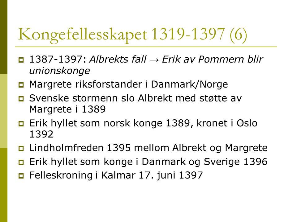 Kongefellesskapet 1319-1397 (6)