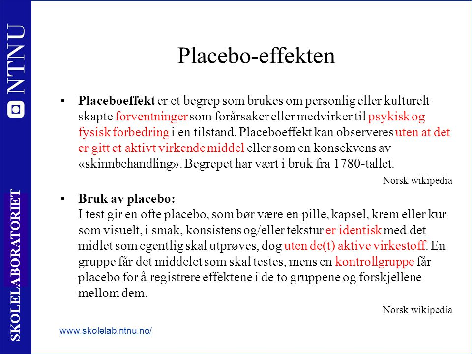 Placebo-effekten