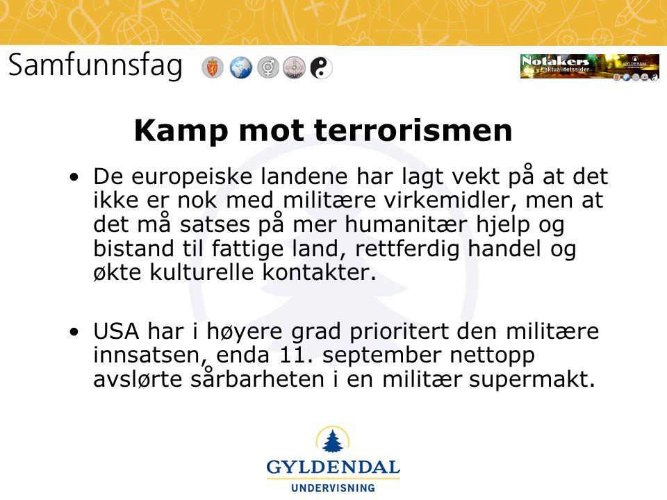 Kamp mot terrorismen