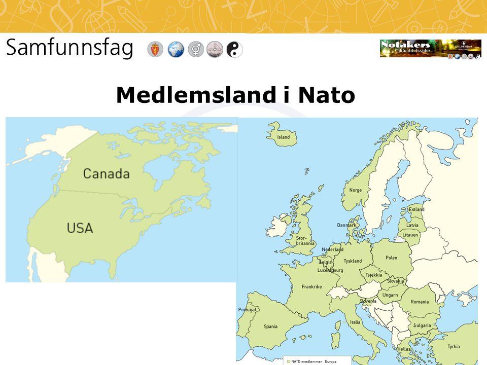 Medlemsland i Nato