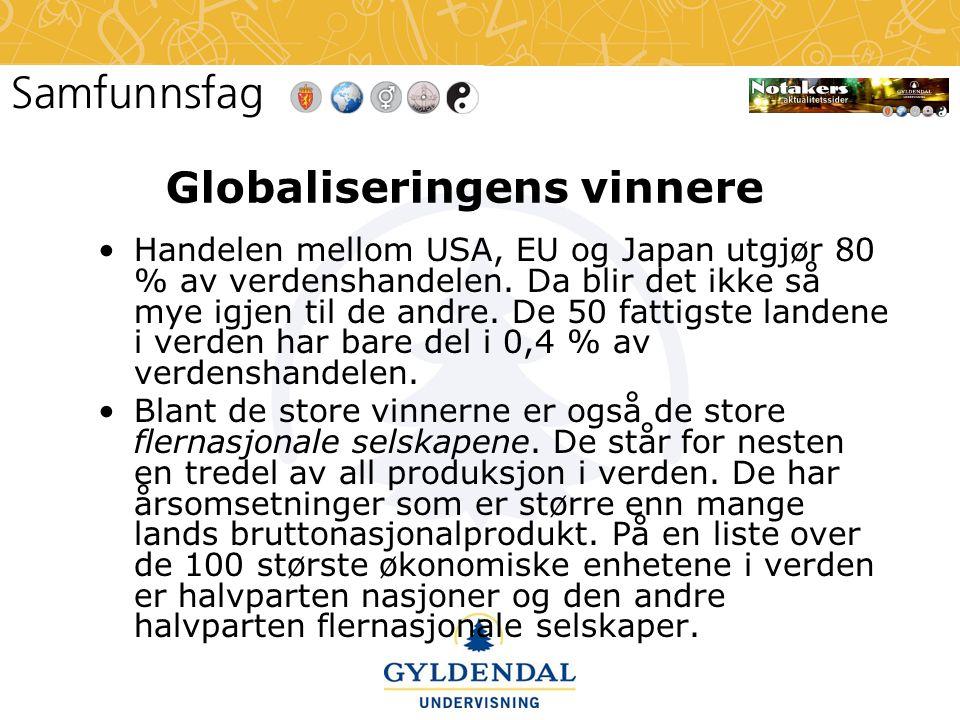 Globaliseringens vinnere
