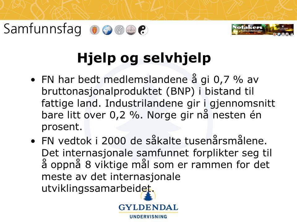Hjelp og selvhjelp