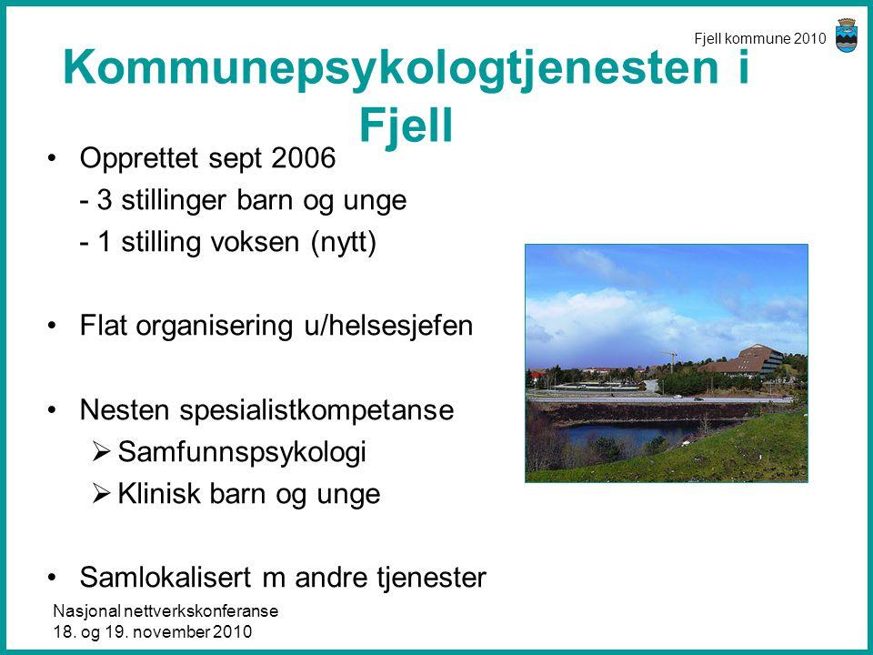 Kommunepsykologtjenesten i Fjell