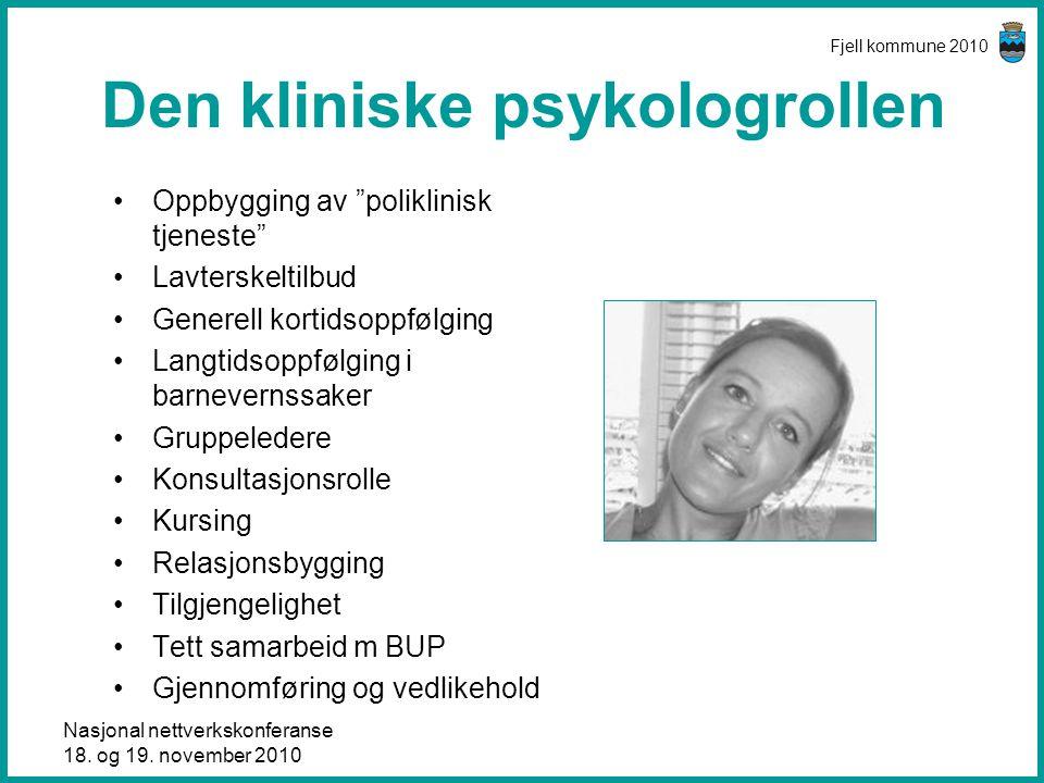 Den kliniske psykologrollen