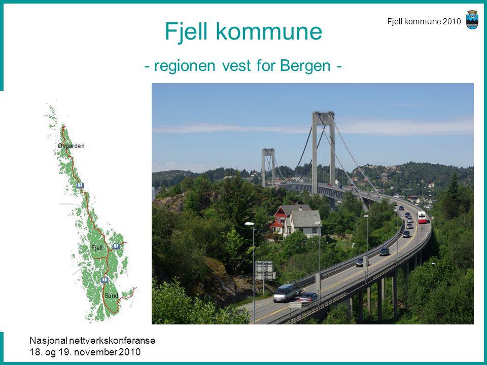 Fjell kommune - regionen vest for Bergen -