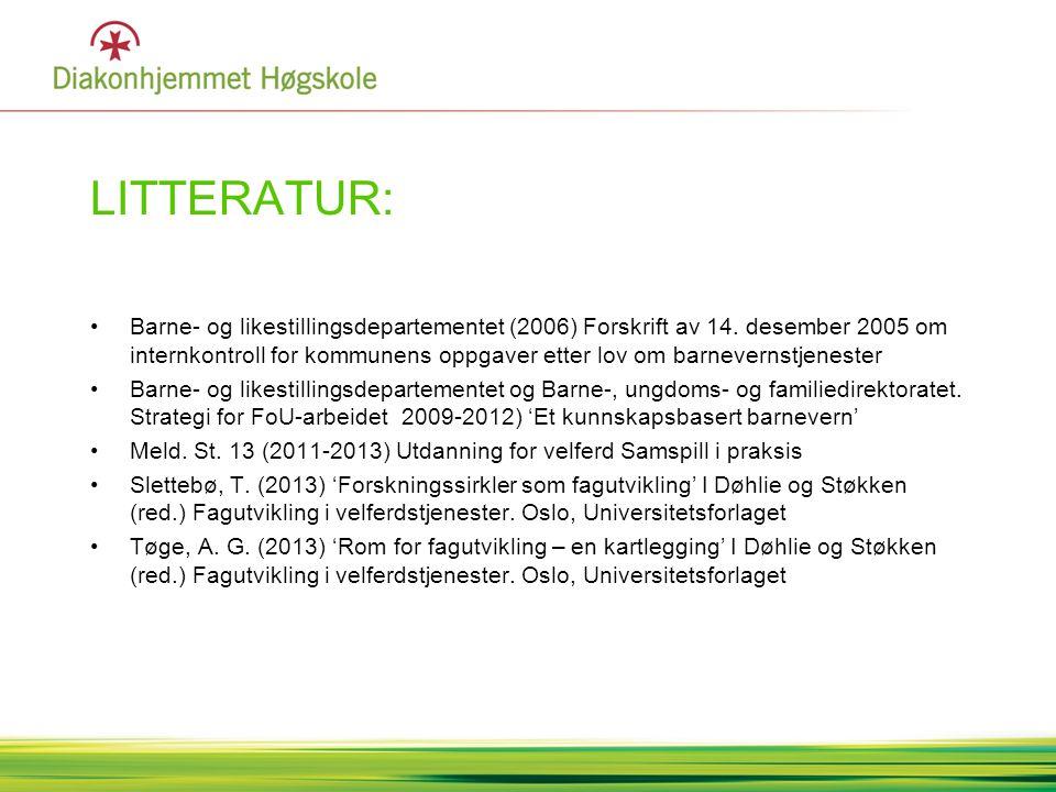 LITTERATUR: