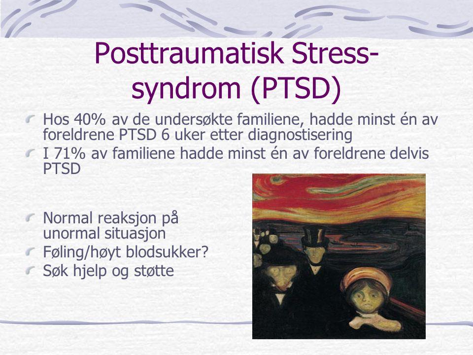 Posttraumatisk Stress-syndrom (PTSD)