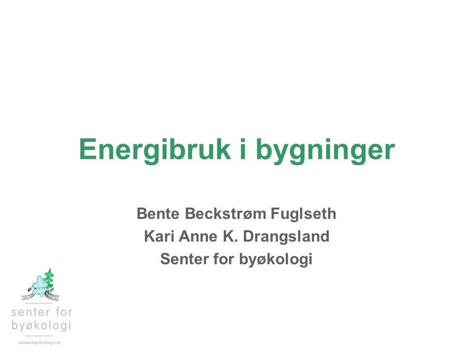 Energibruk i bygninger