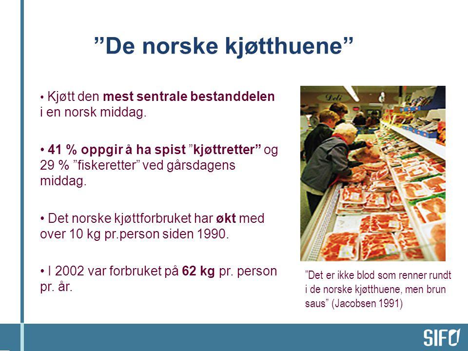 De norske kjøtthuene