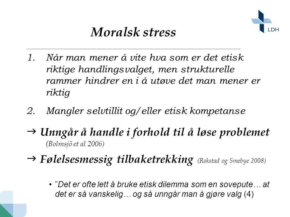 Moralsk stress