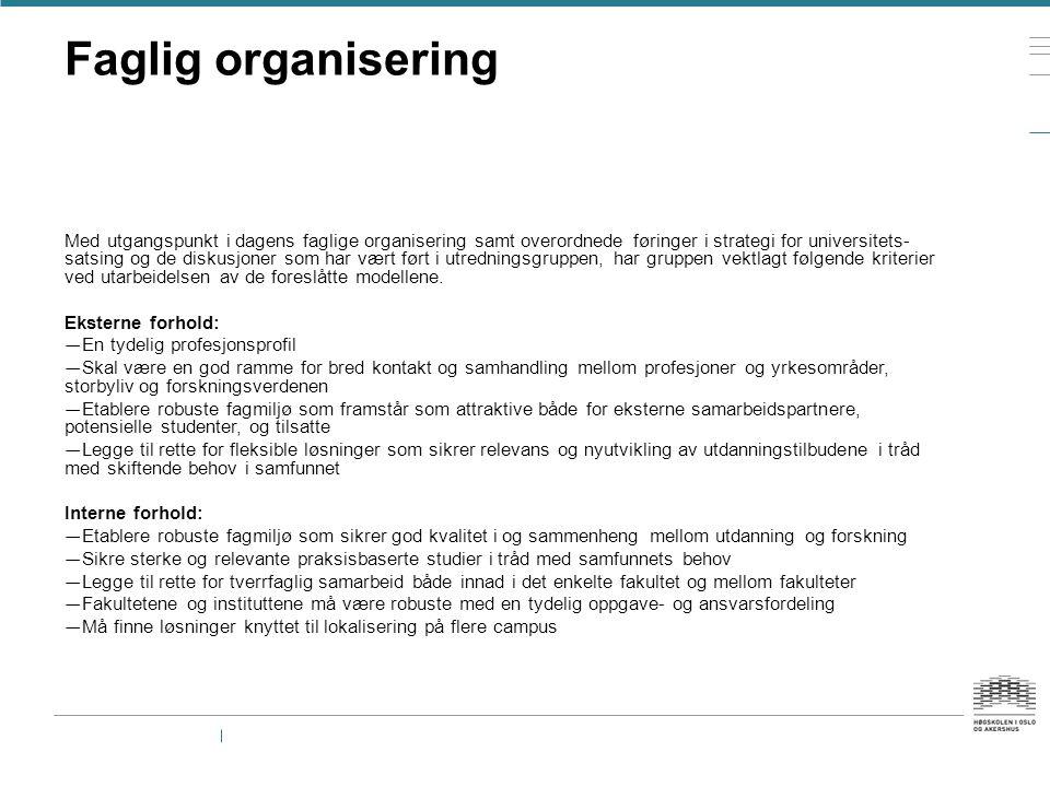 Faglig organisering