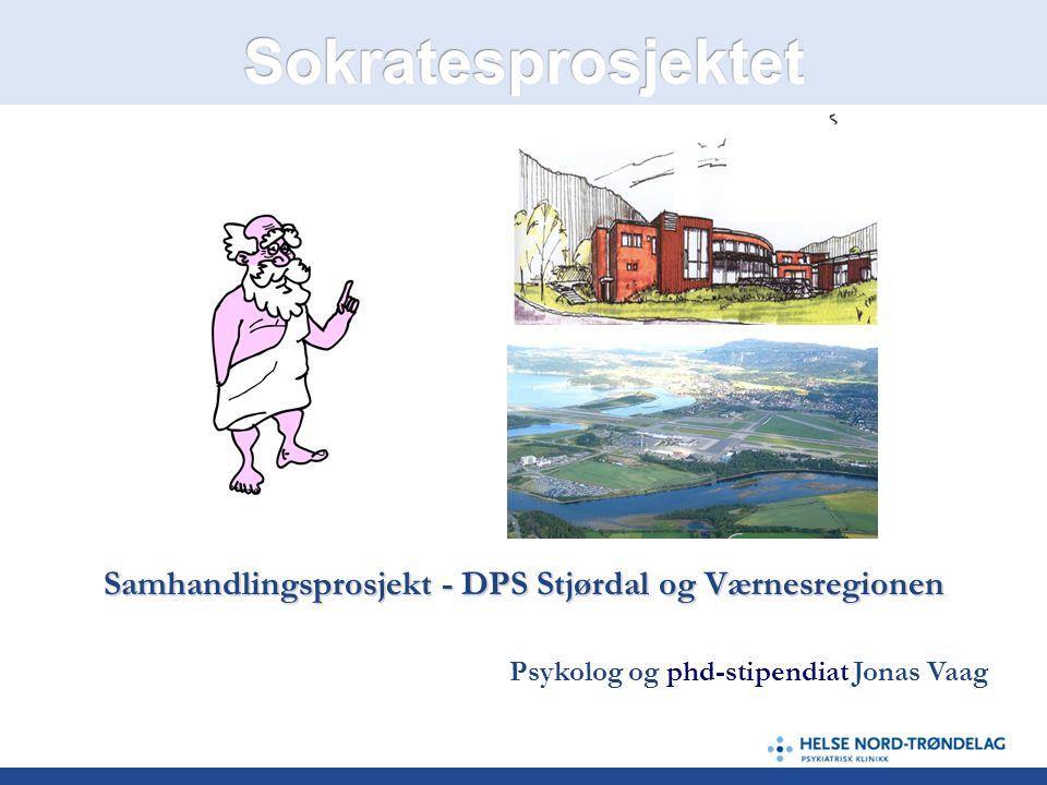 Samhandlingsprosjekt - DPS Stjørdal og Værnesregionen