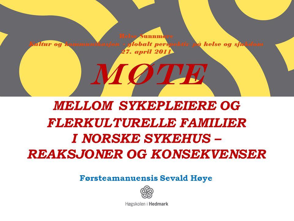 Førsteamanuensis Sevald Høye