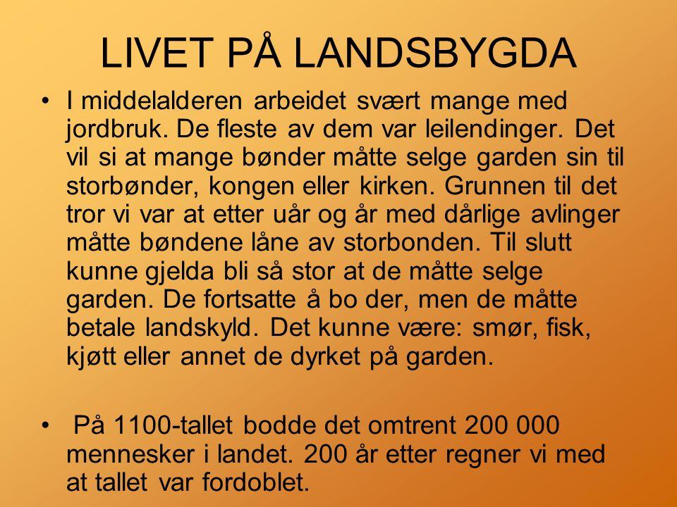 LIVET PÅ LANDSBYGDA