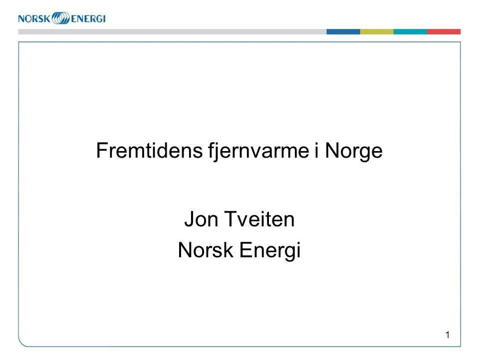 Fremtidens fjernvarme i Norge