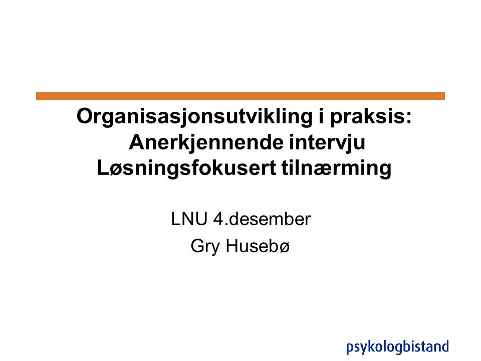 LNU 4.desember Gry Husebø