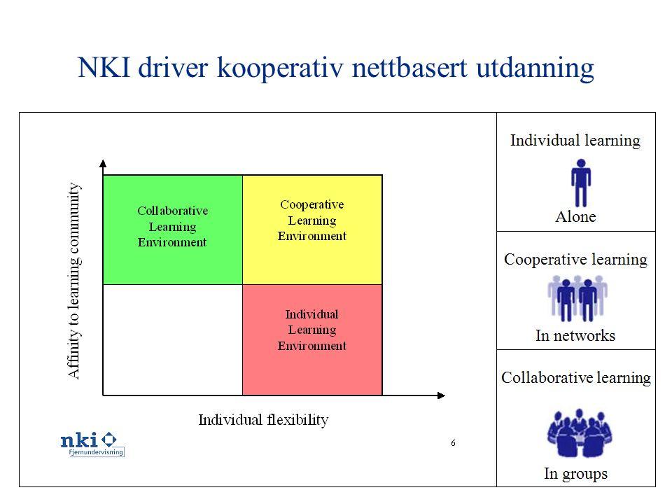 NKI driver kooperativ nettbasert utdanning