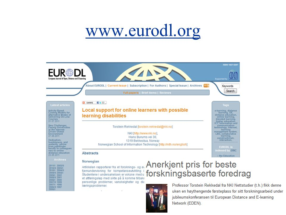 www.eurodl.org