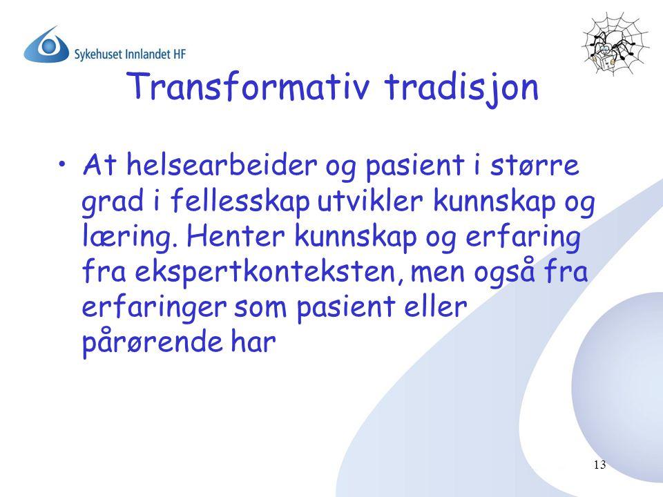 Transformativ tradisjon