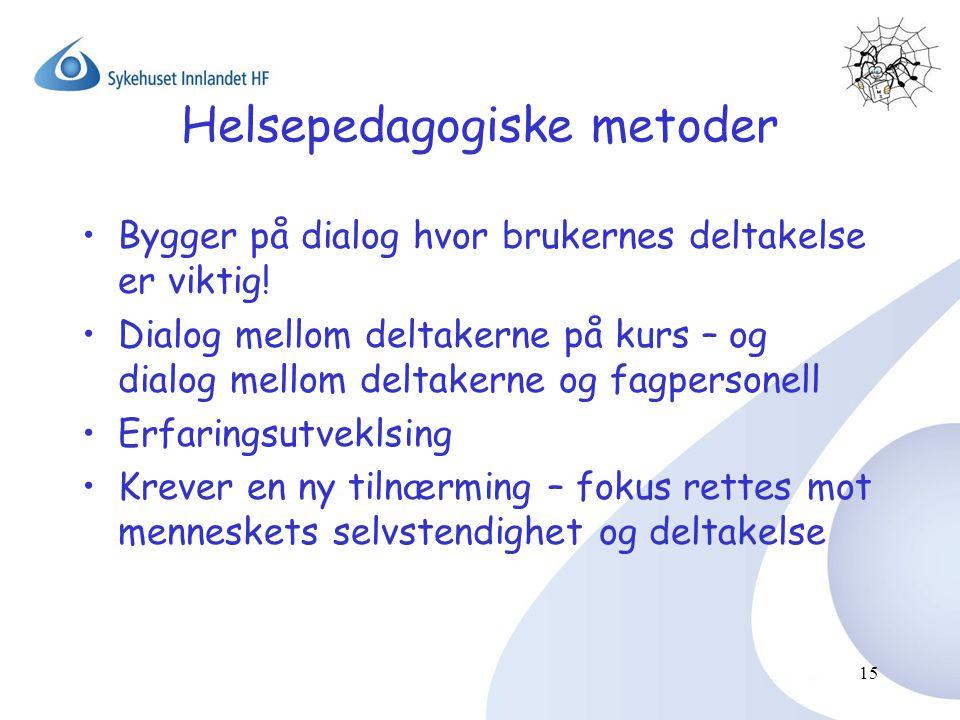 Helsepedagogiske metoder