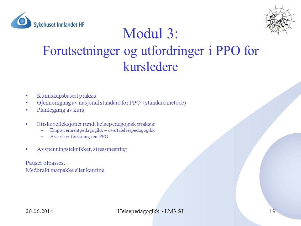 Modul 3: Forutsetninger og utfordringer i PPO for kursledere
