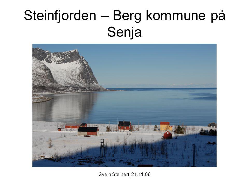 Steinfjorden – Berg kommune på Senja