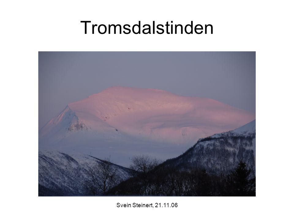 Tromsdalstinden Svein Steinert, 21.11.06