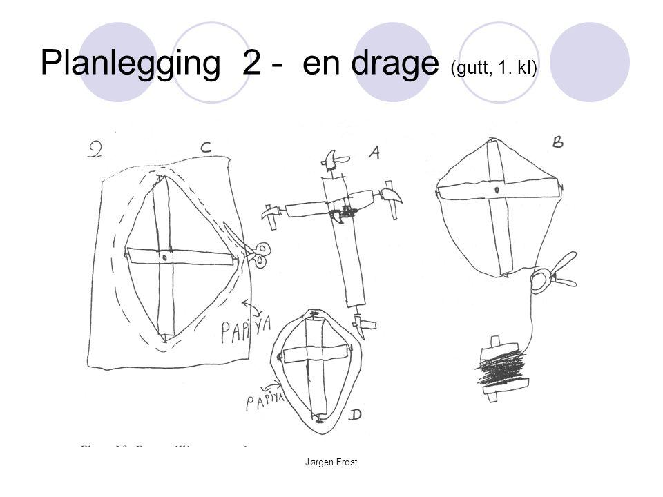 Planlegging 2 - en drage (gutt, 1. kl)