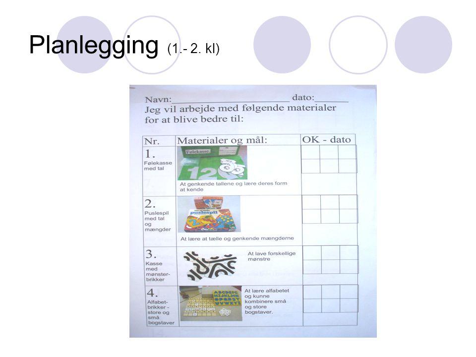 Planlegging (1.- 2. kl) Jørgen Frost