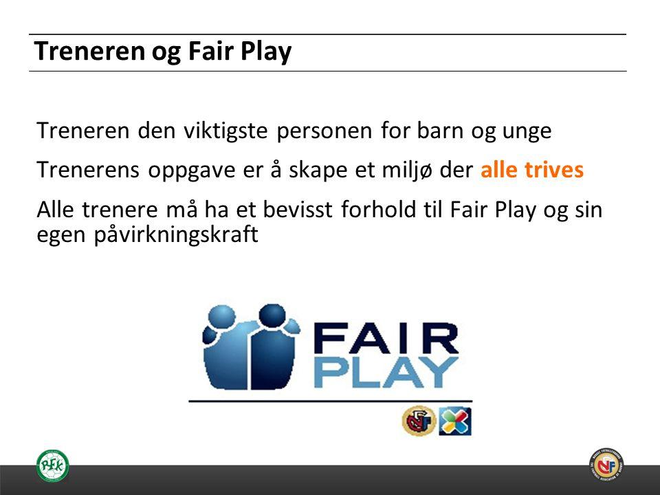Treneren og Fair Play
