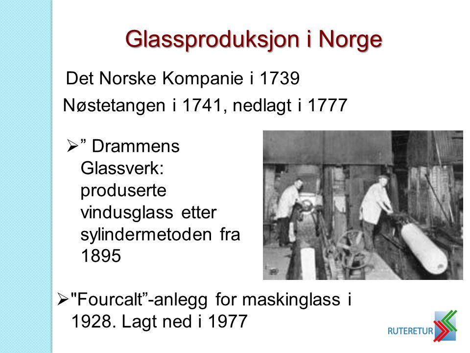 Glassproduksjon i Norge