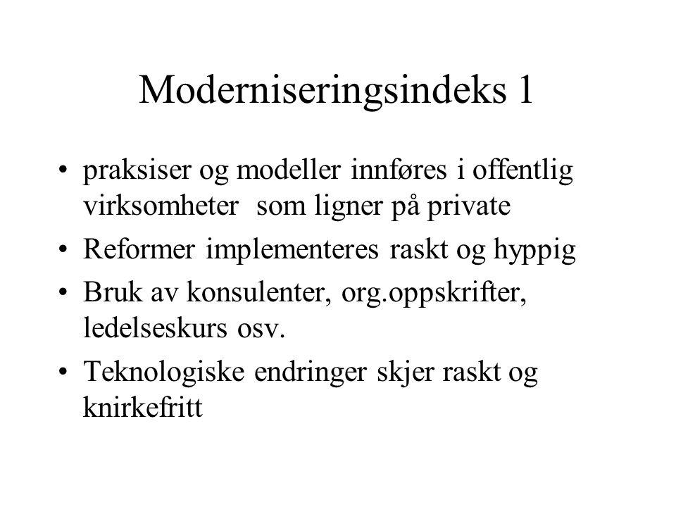 Moderniseringsindeks 1