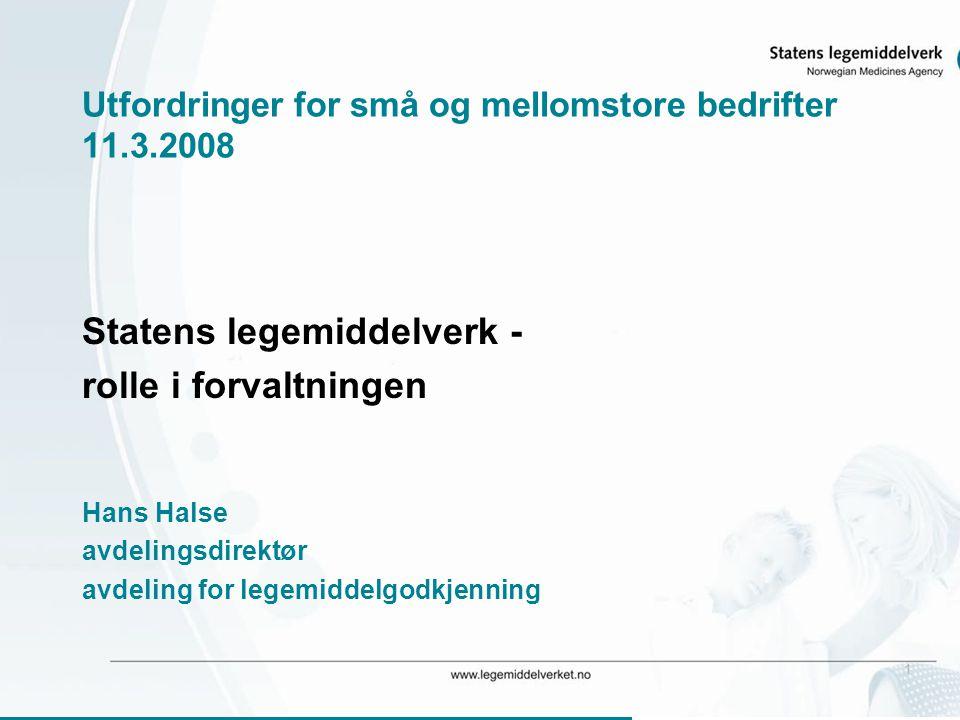 Utfordringer for små og mellomstore bedrifter 11.3.2008