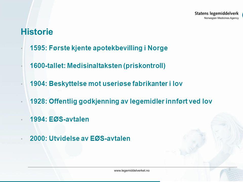 Historie 1595: Første kjente apotekbevilling i Norge