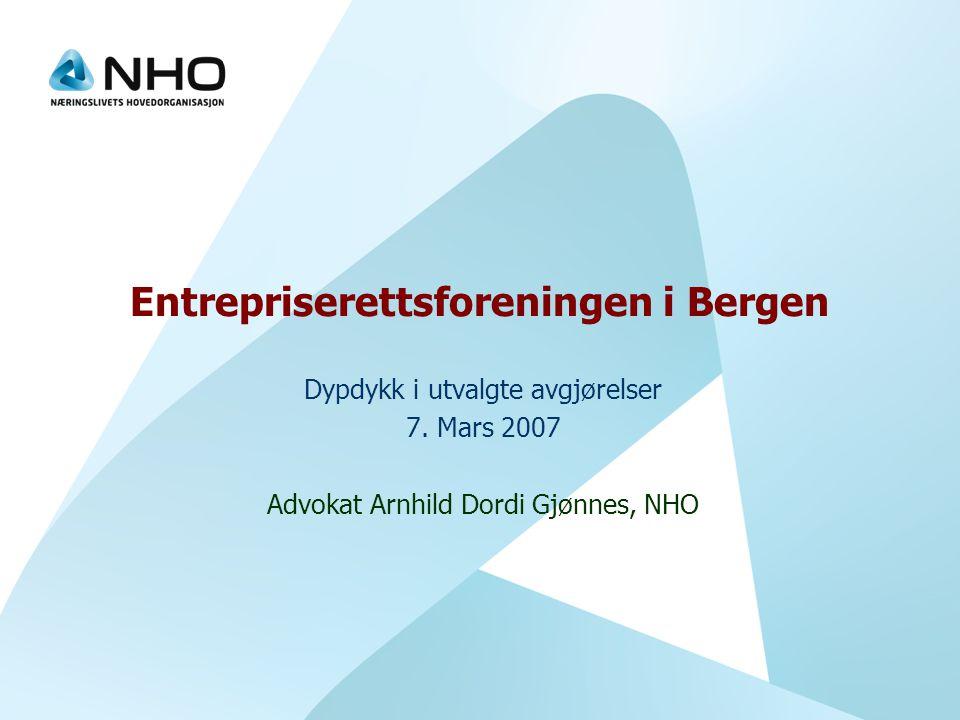 Entrepriserettsforeningen i Bergen