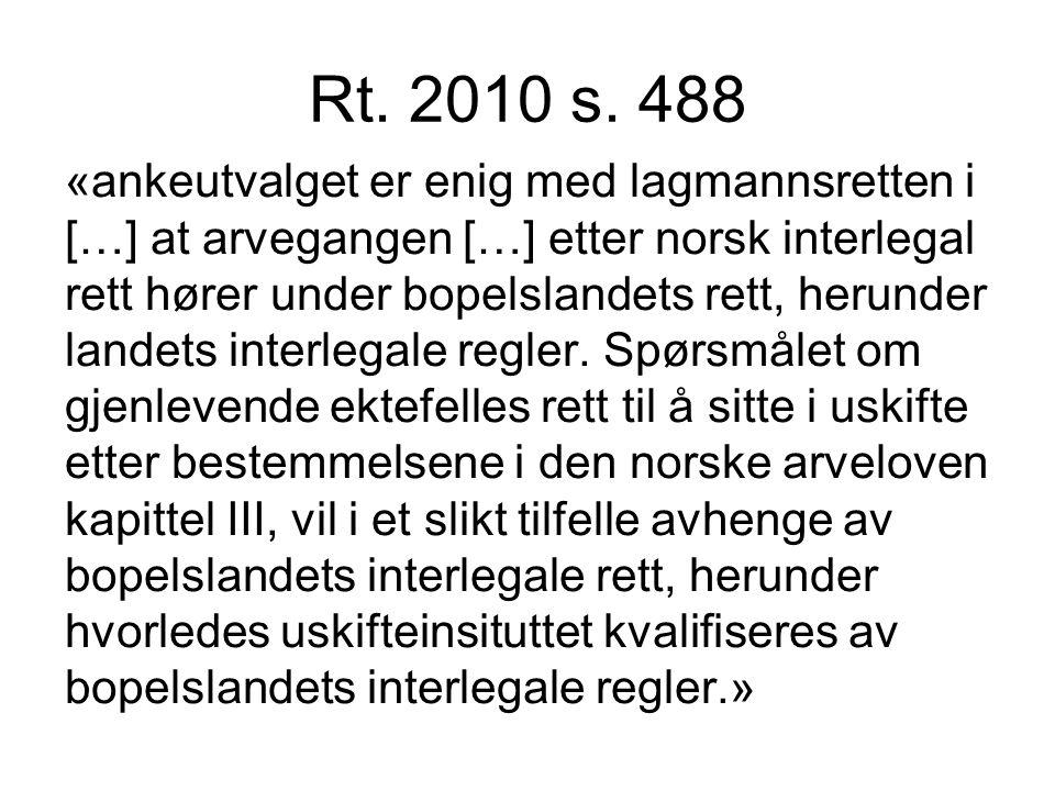 Rt. 2010 s. 488
