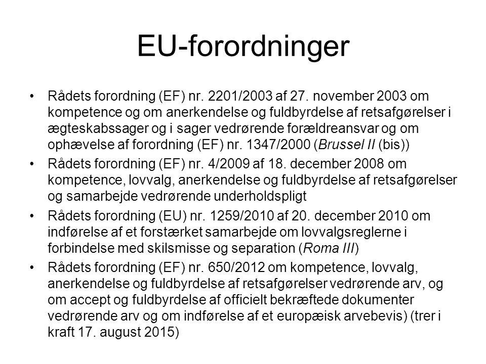 EU-forordninger