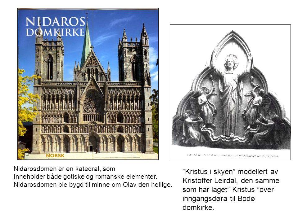 Kristus i skyen modellert av Kristoffer Leirdal, den samme