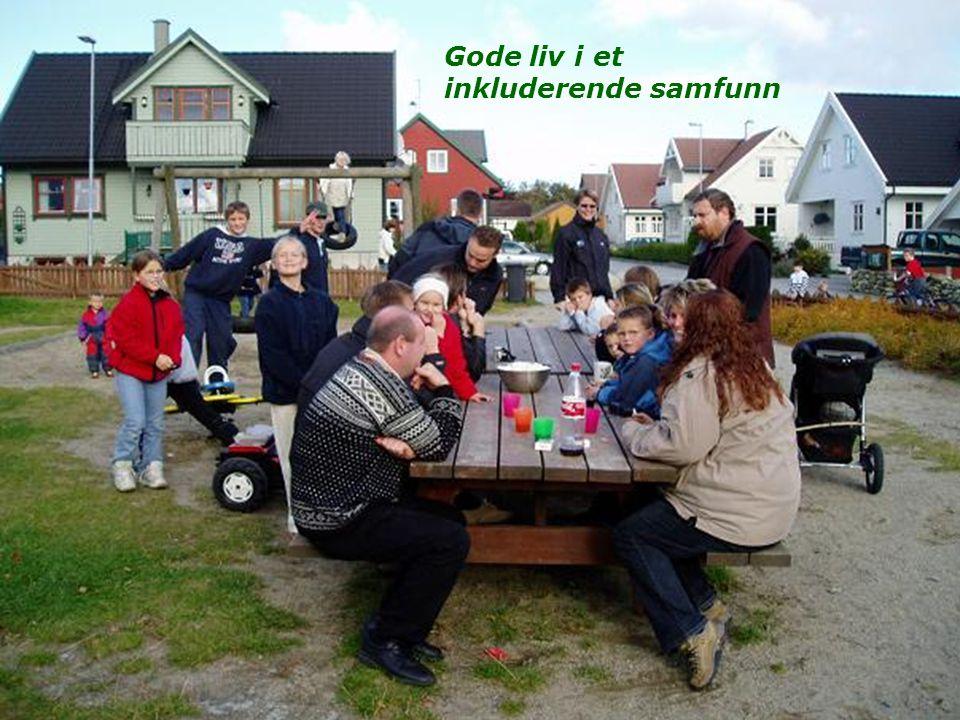 Gode liv i et inkluderende samfunn