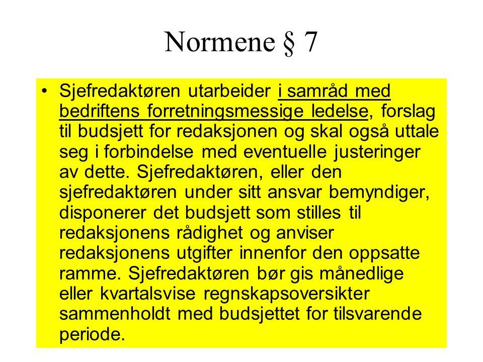 Normene § 7