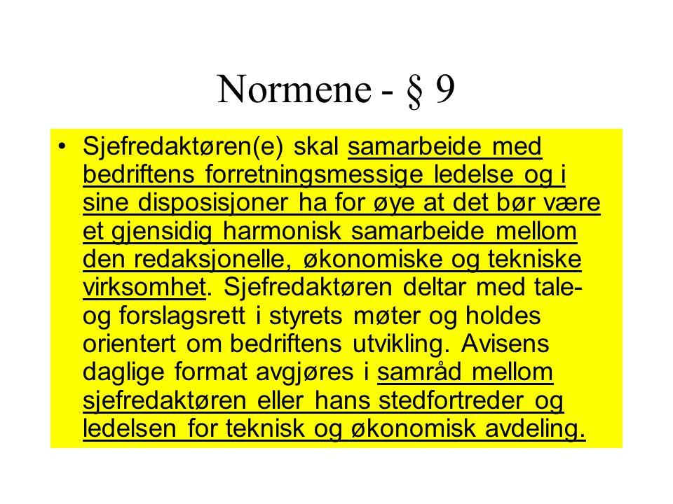 Normene - § 9
