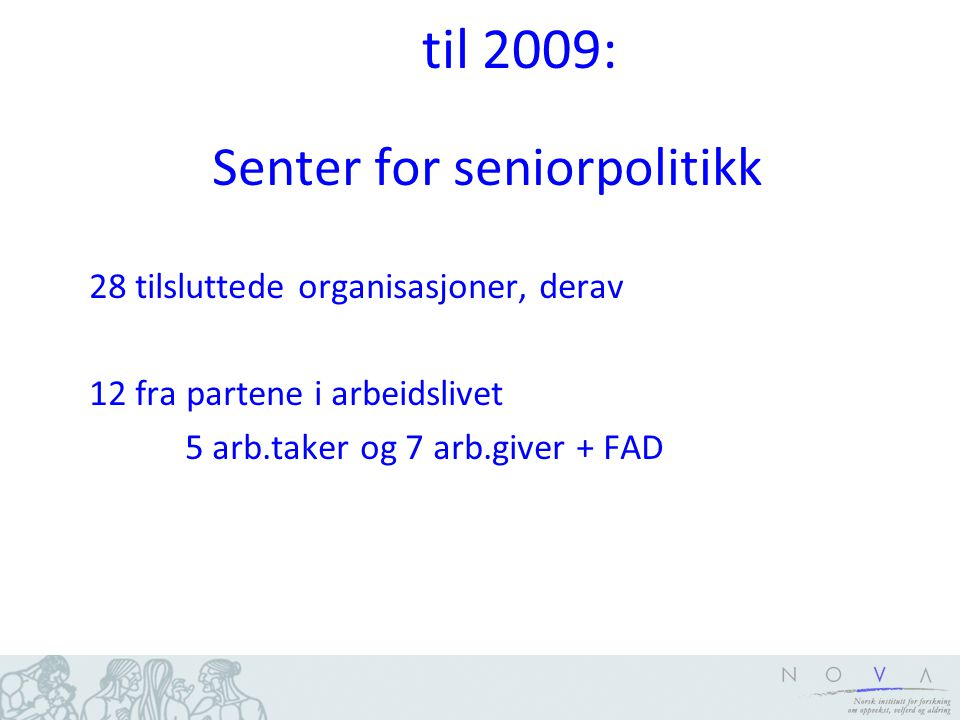 Senter for seniorpolitikk