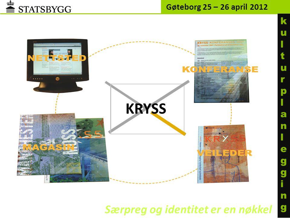 KRYSS Særpreg og identitet er en nøkkel ku l turp l an l egg i ng