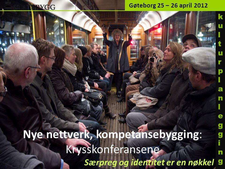 Nye nettverk, kompetansebygging: Krysskonferansene