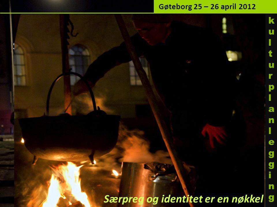 Gøteborg 25 – 26 april 2012 ku l turp l an l egg i ng. Gjenbruk/ny bruk av tomme lokaler: Skulptursalen i St. Olavs gt. 32 som kulturarena for en.