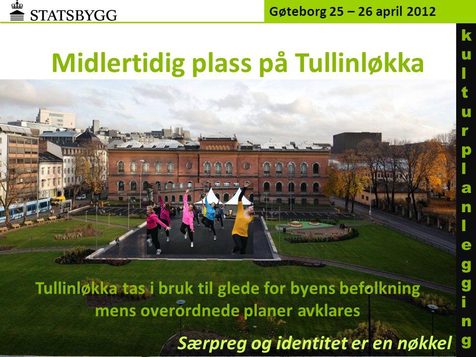 Midlertidig plass på Tullinløkka