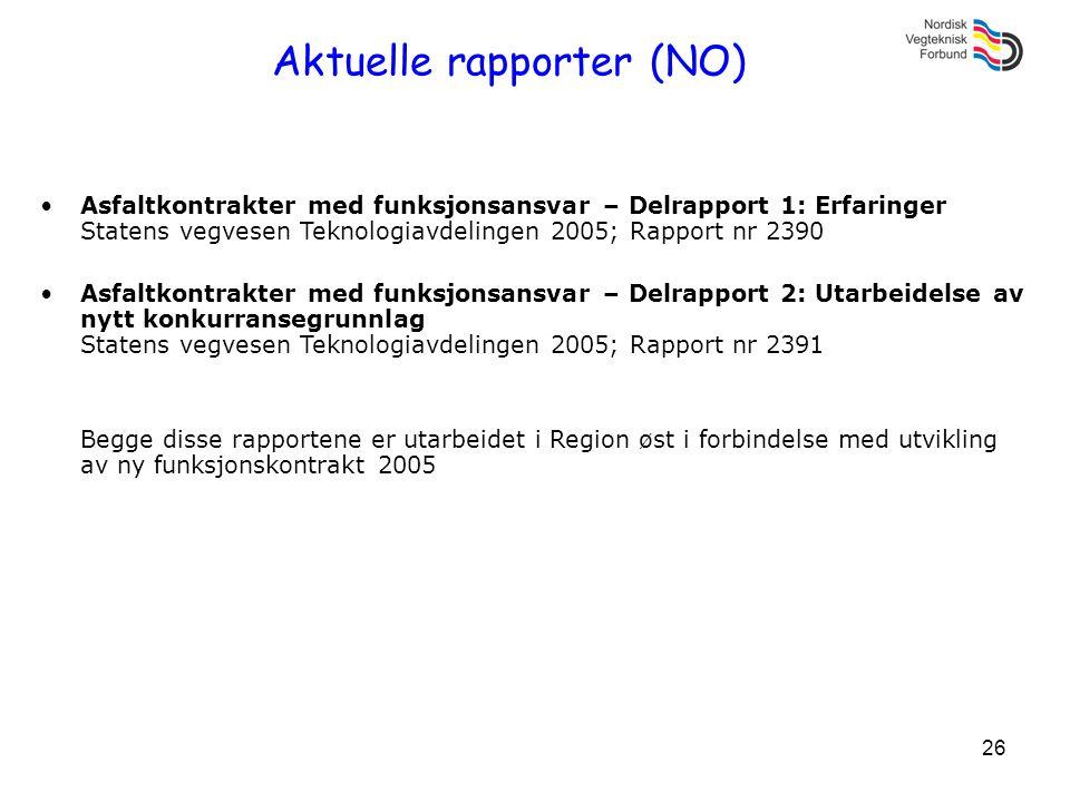 Aktuelle rapporter (NO)