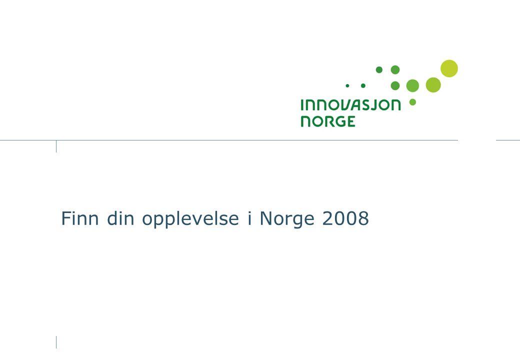 Finn din opplevelse i Norge 2008